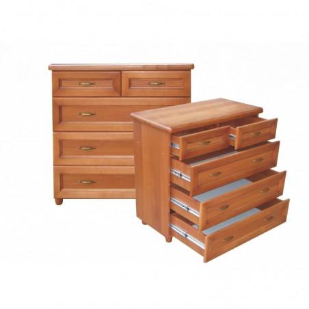 Деревянный комод 3+2 ящика