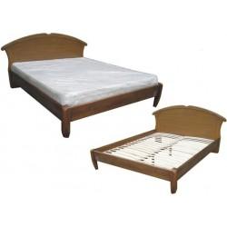 """Деревянная кровать """"Чайка-овал"""""""