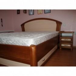 """Деревянная кровать """"Фиона с ящиками 2"""""""