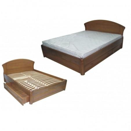 """Деревянная кровать """"Фиона с ящиками"""""""