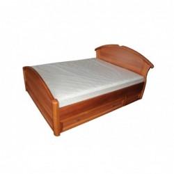 """Деревянная кровать """"Чайка-дуга с ящиками"""""""