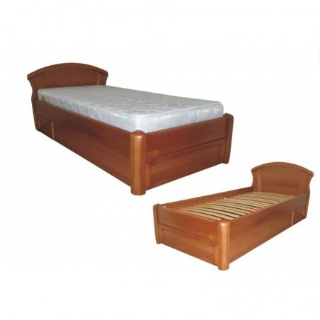 """Деревянная кровать """"Фиона с ящиком"""" односпальная"""