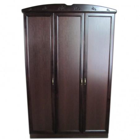 Шкаф 3-х дверный с карнизом
