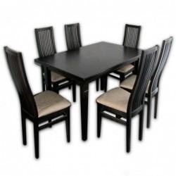 Стол и стулья Сандра