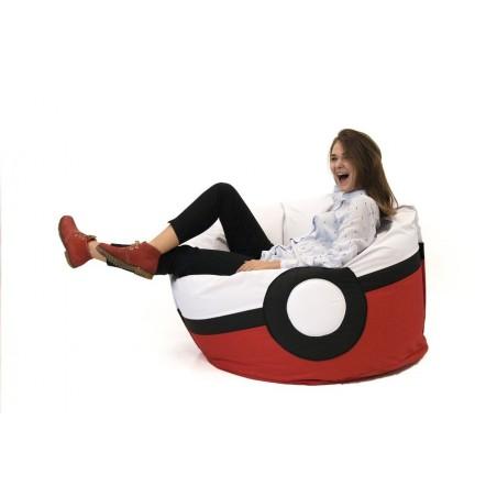 Кресло-мешок «Pokeball»