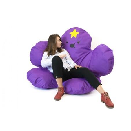 Кресло-мешок цветок «Принцесса Пупырка»