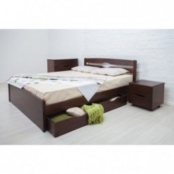 Дерев'яне ліжко «Ліка Люкс...