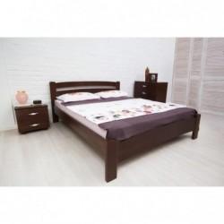 Дерев'яне ліжко «Мілана Люкс»