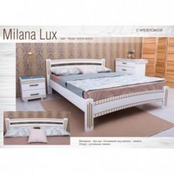 Дерев'яне ліжко «Мілана...