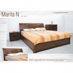 Дерев'яне ліжко «Маріта N з...