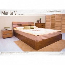 Дерев'яне ліжко «Маріта V з...