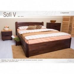 Дерев'яне ліжко «Софія V з...