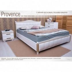 Деревянная кровать...