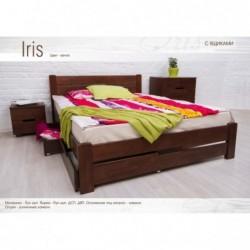 Дерев'яне ліжко «Айріс...