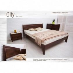 Деревянная кровать «Сити...