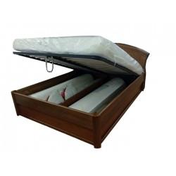 Дерев'яне ліжко з підйомним...