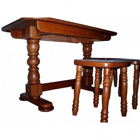 Стол обеденный (массив)