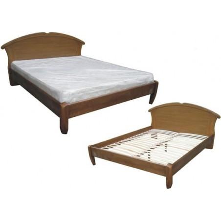 Деревянная кровать «Чайка-овал»