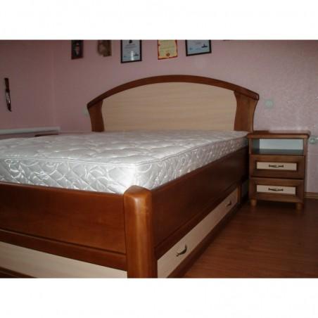 Деревянная кровать «Фиона с ящиками2»