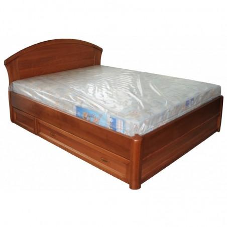 Деревянная кровать «Фиона с ящиками»