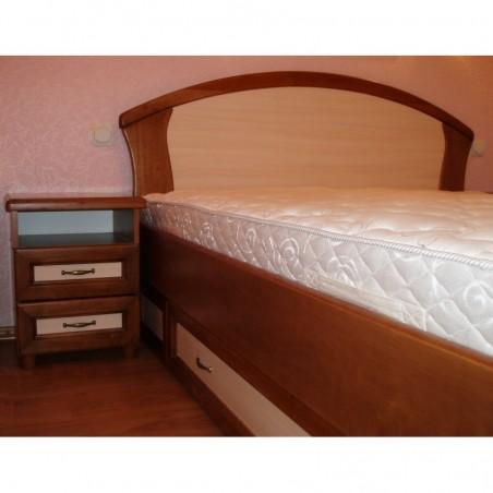 Деревянная кровать «Фиона с ящиками 2»