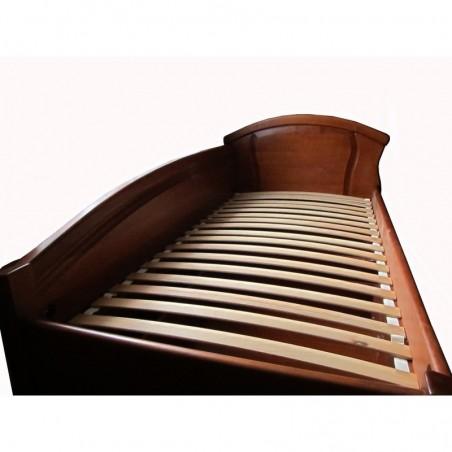 Кровать детская деревянная с ящиками и боковой спинкой  Фиона