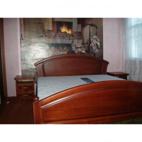Деревянная кровать «Фиона-дуга» массив