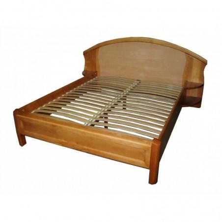 Деревянная кровать «Афина с фасадами»