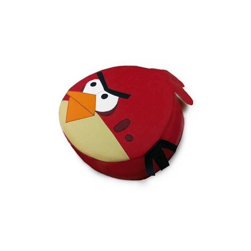 Пуфик Красная птица
